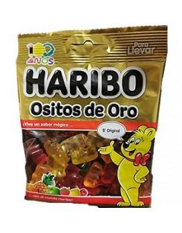 Saquetas Haribo Ositos de Oro Brilho 90g