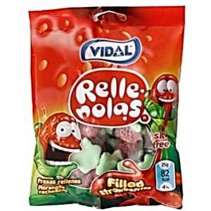 Saquetas Vidal Fresas Rellenas 100gr > Sg