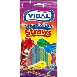 Saquetas Vidal Lanzas Colores Fresa 100gr