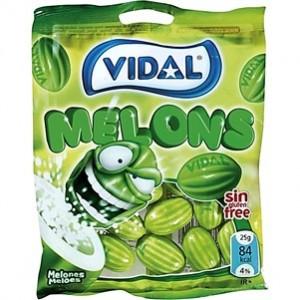 Saquetas Vidal Melons 100gr > Sg