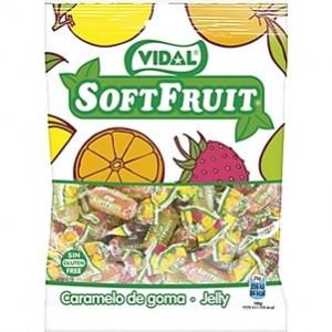 Saquetas Vidal Soft Fruit 100gr > Sg