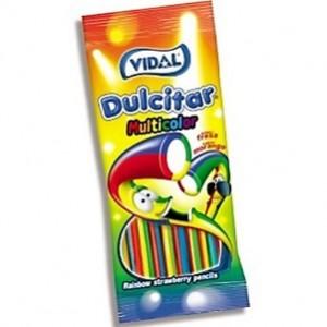 Saquetas Vidal Dulcitar Multicolor 100gr