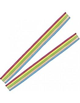 Gavetas Vidal Cintas Rainbow Belts Multicor 200uni - cx 6