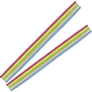 Gavetas Vidal Cintas Rainbow Belts Multicor 200uni