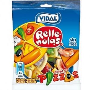 Saquetas Vidal Pizzas Rellenas 100gr > Sg