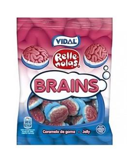 Saquetas Vidal Cérebros Recheados 100g