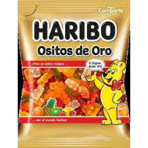 Saquetas Haribo Ursitos de Ouro Brilho 100g