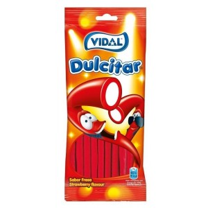 Saquetas Vidal Dulcitar Morango 100g