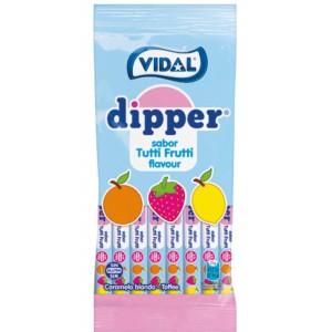 Saquetas Vidal Dipper Tutti-Frutti 12uni