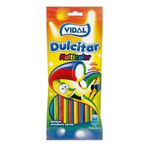 Saquetas Vidal Dulcitar Multicolorido 100g