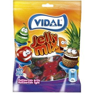 Saquetas Vidal Sortido Brilho Light 100g