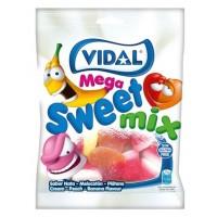 Saquetas Vidal Mega Sortido Açúcar 100g