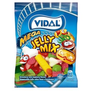 Saquetas Vidal Mega Sortido Brilho 100g