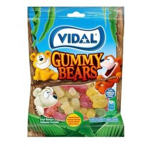 Saquetas Vidal Ursinho Açúcar 100g