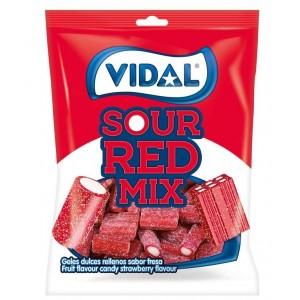 Saquetas Vidal Sortido Vermelho Ácido 100g