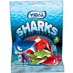 Saquetas Vidal Tubarões 100g