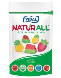 Vidal Naturall Sour Fruit Mix 180g