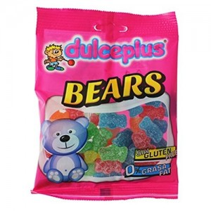 Saquetas Dulceplus Mini Ursos Açúcar 100g