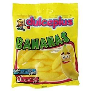 Saquetas Dulceplus Bananas 100g