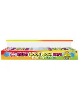 Zed Candy Mega Pastilha Elástica Ácida 100g x 30uni