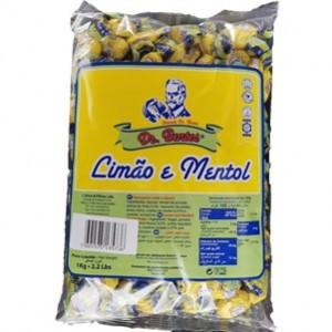 Rebuçados Dr.Bentes Limão e Mentol Saco 1Kg > Sg