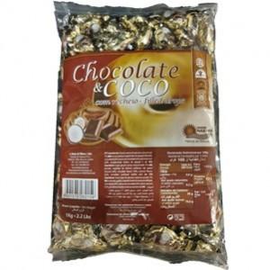 Rebuçados Com Recheio Chocolate e Coco 1Kg > Sg