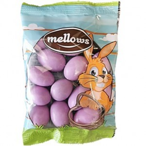 Amendoas Mellows Chocolate Lilás 100g cx25