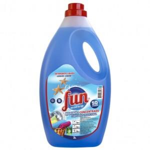 Detergente Fun Roupa Marinho 3L cx4 - Apenas disponivel na loja. Saber +