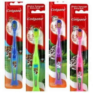 Escovas Dentes Criança Colgate 2+ Emb12 cx72