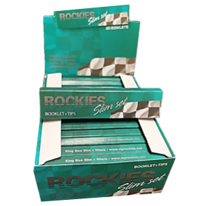 Papel de Fumar com Filtro Rochies Slim Set 28 - Mortalhas