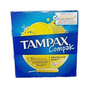 Tampax Compact 18uni - Regular