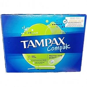 Tampax Compact 18uni - Super