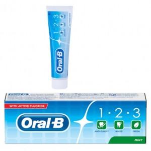 Oral B 100ml 123 poder blanqueador