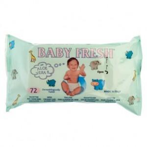 Toalhitas Baby Fresh 72 uni cx12
