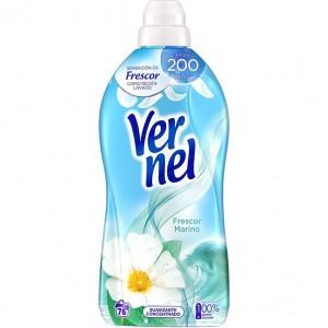 Amaciador Vernel Frescura Marinha1,311L(69ml gratis) - Apenas disponivel na loja. Saber +