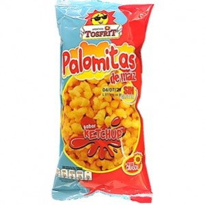 Tosfrit Palomitas sabo Ketchup 35g