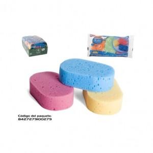 Esponjas banho Ovais 3uni, pack14