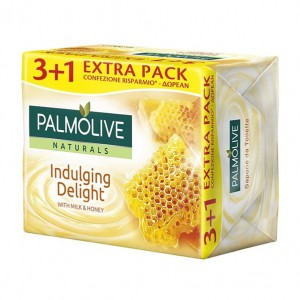 Palmolive Sabonete 3+1 leite e mel - Apenas disponivel na loja. Saber +