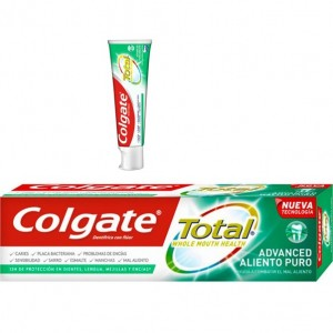 Colgate Total Advanced  Halito Puro 75ml cx12