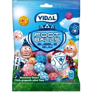 Saquetas Vidal Pastilhas Bolas Futebol 90gr > Sg