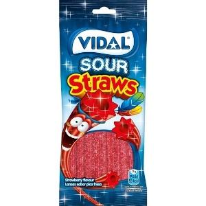 Saquetas Vidal Lanzas Fresa Pika 100gr