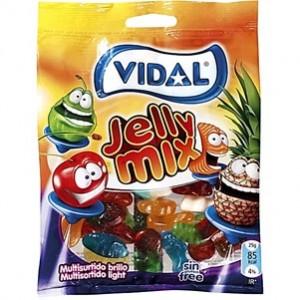 Saquetas Vidal Multisurtido Jelly Light 100gr > Sg