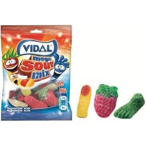 Saquetas Vidal Megasurtido Ácido 100gr