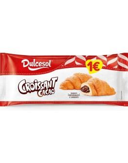 Croissants recheio cacao Dulcesol - cx 9