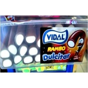 Gavetas Vidal Rambo Dulcitar Cola 24uni