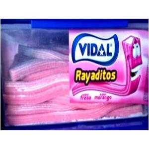 Gavetas Vidal Rayaditos Fresa 200uni
