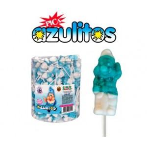 Chupas Azulitos 100und