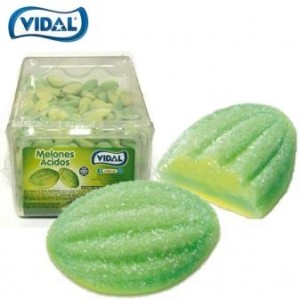 Expositor Melones Acidos Vidal 300 uni > Sg