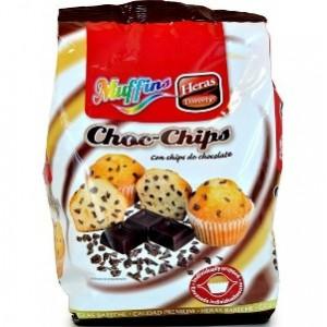 Madalenas Choc-Chips 280gr