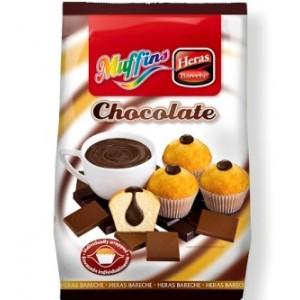 Madalenas Recheio Chocolate Hero 280g